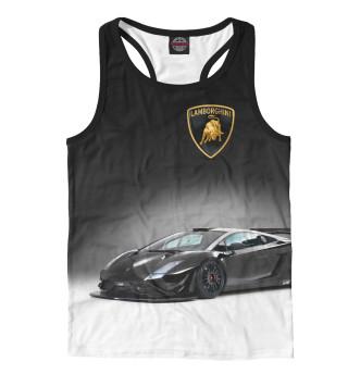 Майка борцовка мужская Lamborghini (7767)