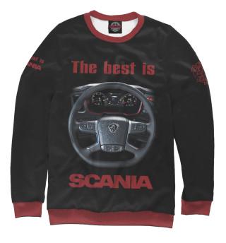 Одежда с принтом The best is SCANIA