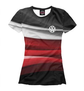 Футболка женская Volkswagen sport