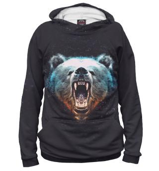 Худи женское Медведь (4185)