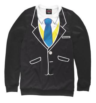 Одежда с принтом Смокинг с галстуком