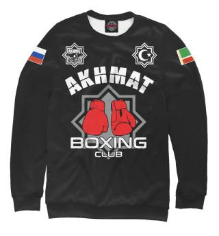 Одежда с принтом Akhmat Boxing Club