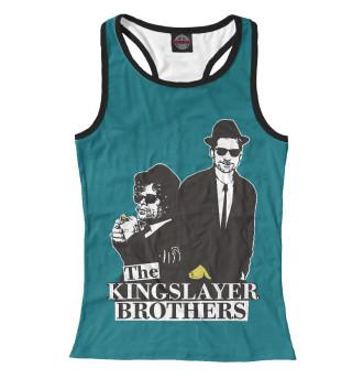 Майка борцовка женская Kingslayer Brothers