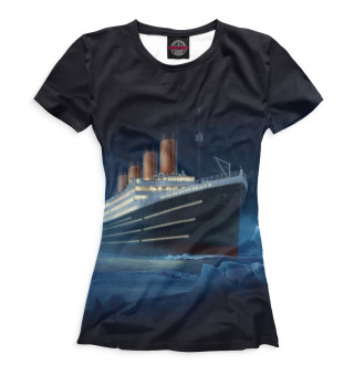 Футболка женская Титаник (9717)