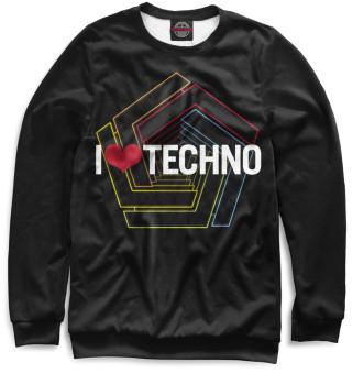 Одежда с принтом Techno (535821)