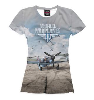 Футболка женская World of Warplanes (2452)