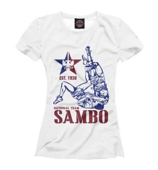 Футболка женская Самбо (6145)