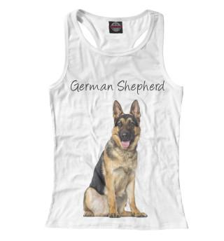 Майка борцовка женская German Shepherd (2426)