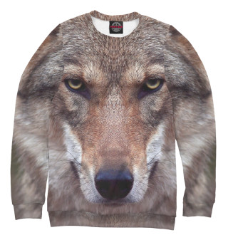 Одежда с принтом Волчий взгляд