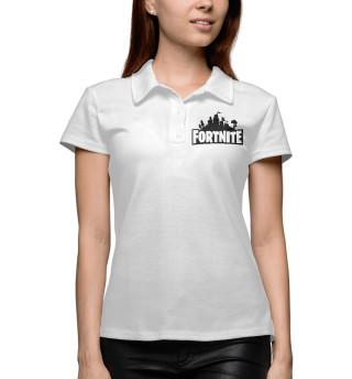 Поло женское Fortnite