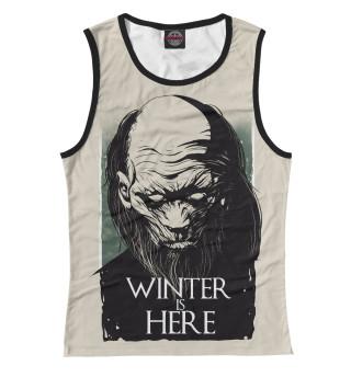 Майка женская Winter Is Here