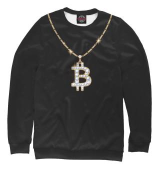 Одежда с принтом Бриллиантовый биткоин