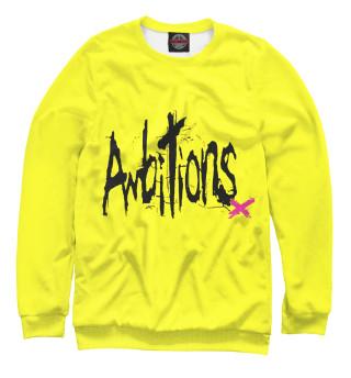 Одежда с принтом ONE OK ROCK AMBITIONS