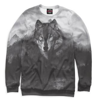 Одежда с принтом Волки (216776)