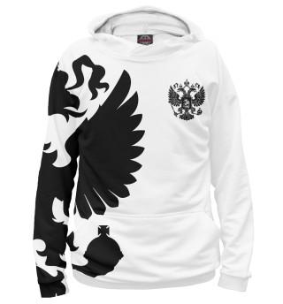 Худи женское Герб России (2835)