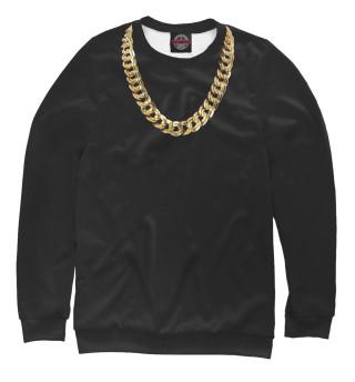 Одежда с принтом Золотая цепь (780805)