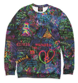 Одежда с принтом Coldplay (164468)