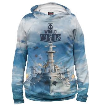 Худи женское World of Warships (2670)