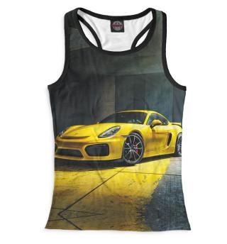 Майка борцовка женская Porsche (6155)