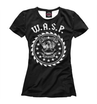 Футболка женская W.A.S.P. Band