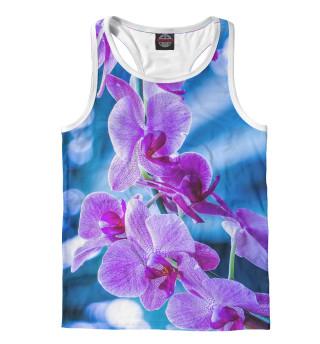 Майка борцовка мужская Орхидея