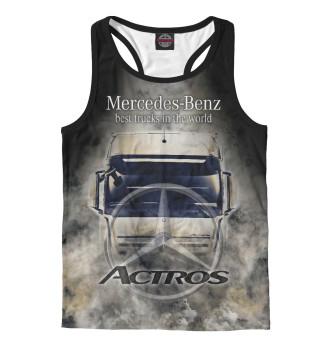 Майка борцовка мужская Mercedes-Benz Actros