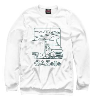 Одежда с принтом ГАЗелька