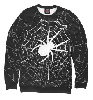 Одежда с принтом Паук в паутине