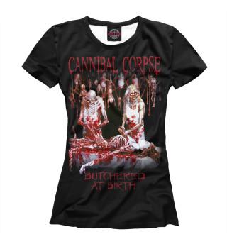 Футболка женская Cannibal Corpse