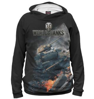 Худи женское World of Tanks (668)