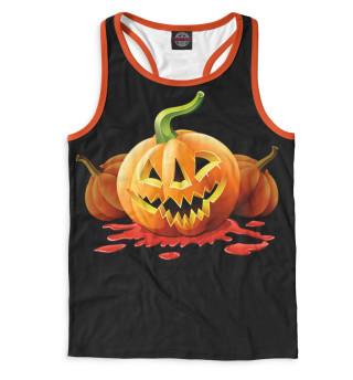 Майка борцовка мужская Halloween (2297)