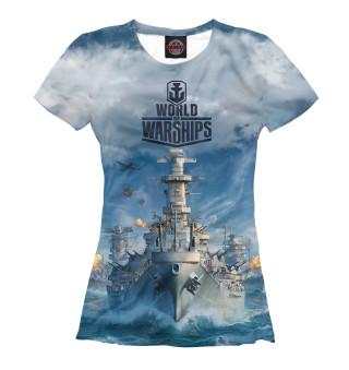 Футболка женская World of Warships