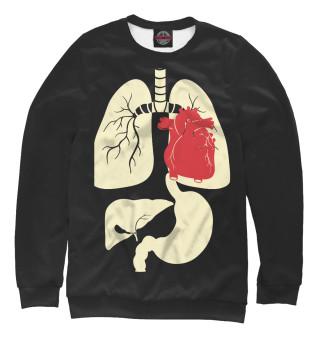 Одежда с принтом Органы