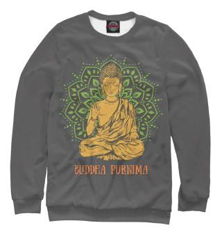 Свитшот, Футболка, Майка, Майка борцовка, Худи, Поло, Лонгслив, Штаны  Buddha Purnima