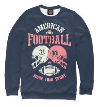 Одежда с принтом Американский футбол (489348)