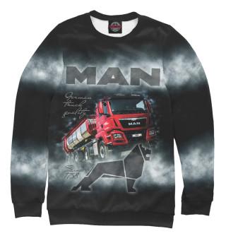 Одежда с принтом MAN
