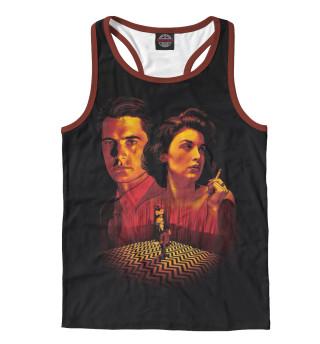 Майка борцовка мужская Twin Peaks (4101)