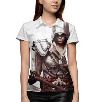 Поло женское Assassin's Creed Ezio Collection
