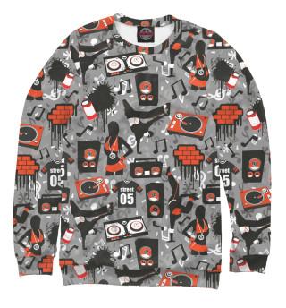 Одежда с принтом Уличный стиль (484428)