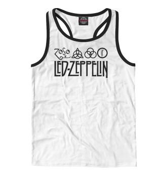 Майка борцовка мужская Led Zeppelin (1232)