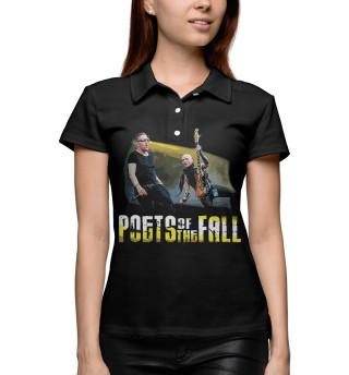 Поло женское Poets of the Fall (8697)