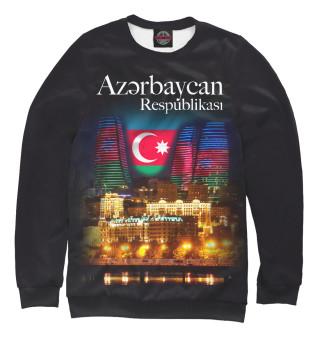 Одежда с принтом Азербайджанская Республика
