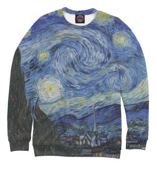 Одежда с принтом Звездная ночь - Ван Гог Винсент