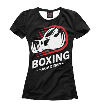 Футболка женская Академия Бокса