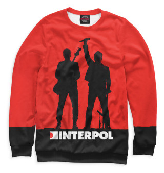 Одежда с принтом Interpol (683751)