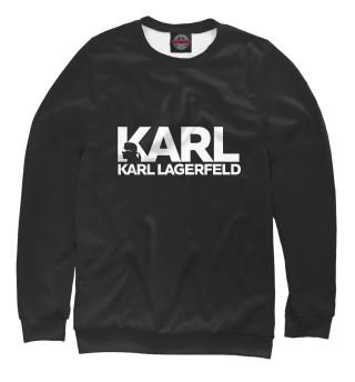 Одежда с принтом Карл Лагерфельд