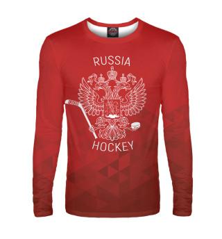Лонгслив  мужской Чемпионат мира по хоккею 2019 (8844)