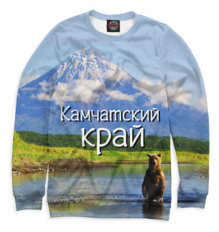 Одежда с принтом Камчатский край