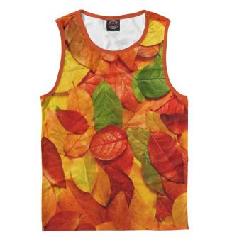 Майка мужская Осенние листья (1195)
