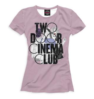 Футболка женская Two Door Cinema Club (4101)